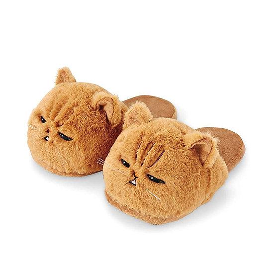 Millffy Cute Plush Cat Slippers Soft Toy Kitten Woman Kitty Slippers