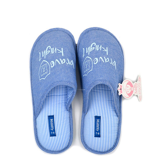 Millffy home slippers cotton slipper for man and woman MS0919