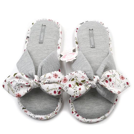 Millffy Classic Summer Floral Memory Foam Slippers MS0917