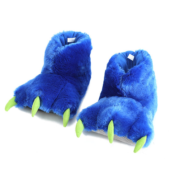 Millffy Funny Stuffed Animal Paw Slippers Soft Cozy Claw Paw Slippers