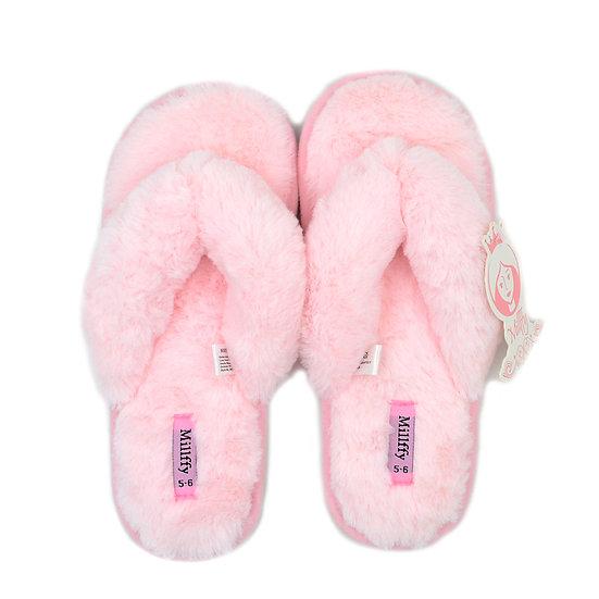 Millffy Fashion Flip Flops Indoor Bedroom Slippers MS0908
