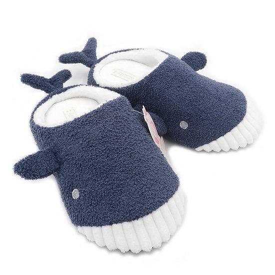 Millffy Cute Whale Shark Plush Slippers MS0952