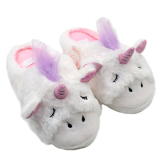 2019 Millffy soft cutie unicorn home plush slippers for girls MS0956