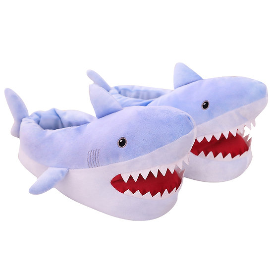 Millffy adults plush shark shoes animal slippers MS1907