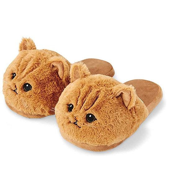 Millffy Plush Animal Cat Slippers Soft Toy Kitten Woman Slippers