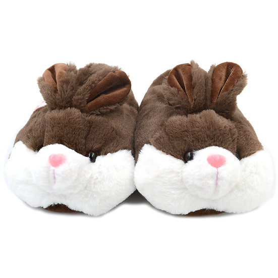 Millffy winter warm soft bunny animal rabbit plush girls slippers  MS0958