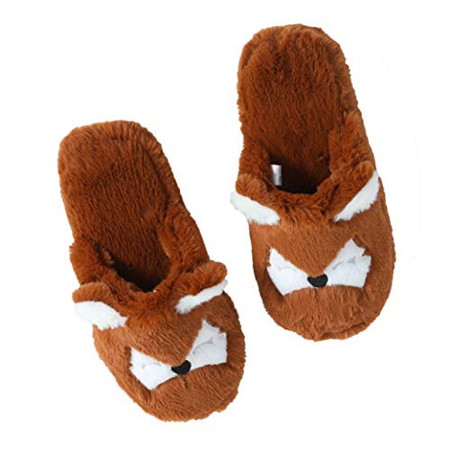 Millffy Fuzzy Cat Animal Slippers Raccoon Fluffy Home Shoes Bedroom Slides
