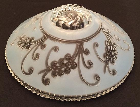 Wonderful Vintage Art Glass Ceiling Light Cover.