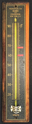 Weksler NYC Board of Education Thermometer.