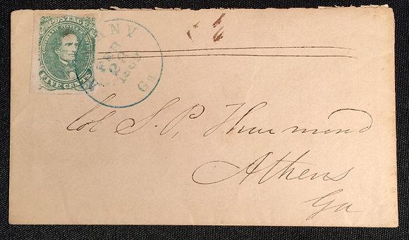 Confederate Postal History.
