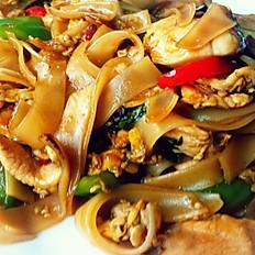 Drunken Noodle(Famous Thai Dish)