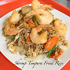 Shrimp Tempura Fried Rice