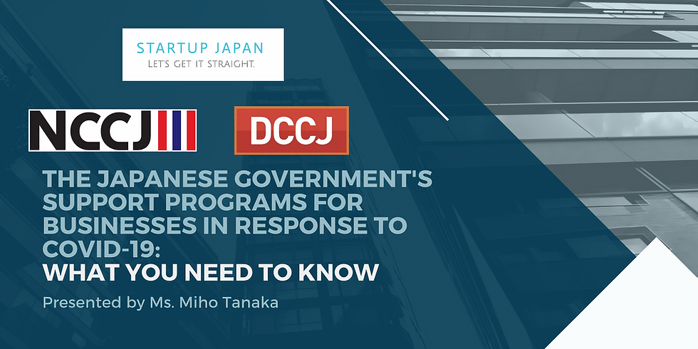 The Japanese Government's Support Programs for Businesses in Response to COVID-19: What You Need to Know