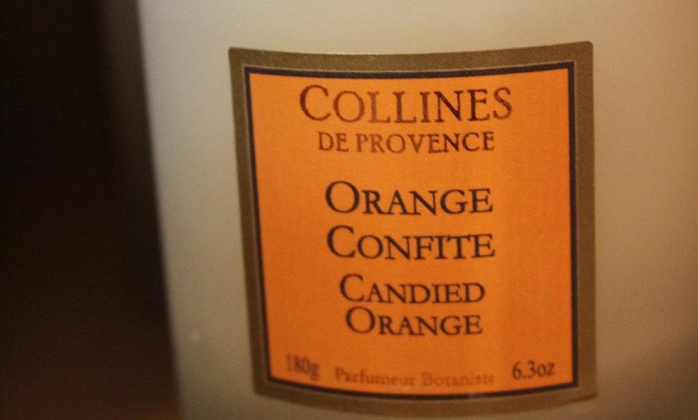 Bougie parfumée Orange Confite
