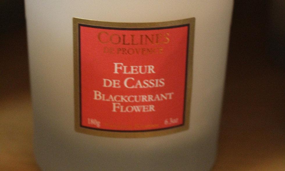 Bougie parfumée Fleur de Cassis