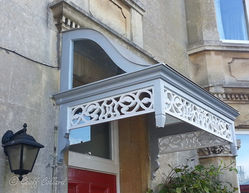 Victorian Scrolled Canopy in Bath