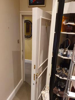 secret door looking from inside