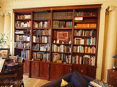 Hidden bookcase door Great Pulteney Stre