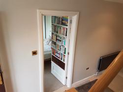Secret door open