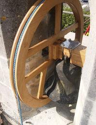 Church Bell Wheel