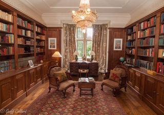 Library in oak