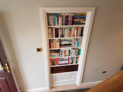 Faux Bookcase Door