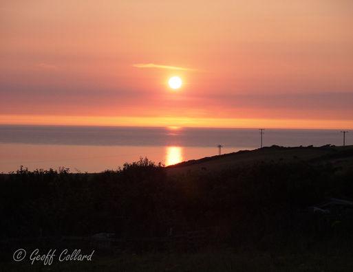 Sunset at Woolacombe