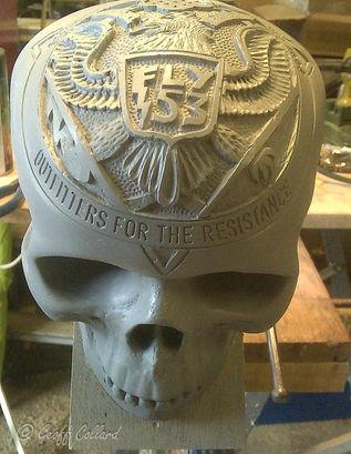 Fly 53 skull