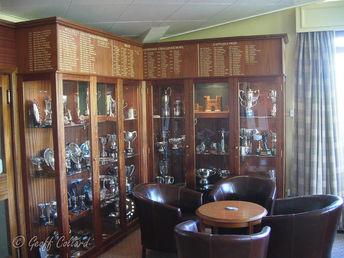 Trophy Cabinet & Honours Boards Bath Golf Club