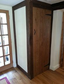Oak Framed Cupboard