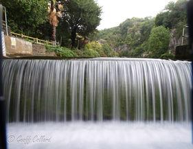 Cheddar waterfall