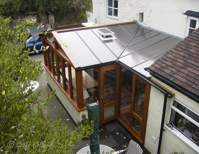 Arieal view of Conservatory