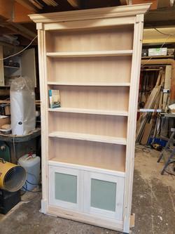 Real bookcase door