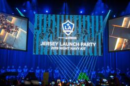 LA Galaxy Jersey Launch Party 2019 Close