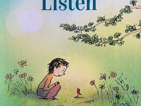 Breadcrumbs Best Book: Listen, by Holly M. McGhee + illustrated by Pascal Lemaitre