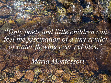 Poets and Little Children...