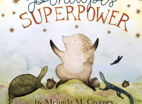 Breadcrumbs Best Book: Penelope's Superpower by Melinda Cropsey + illustrated by Giada Rose
