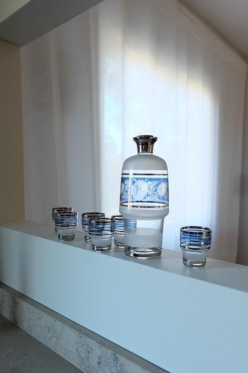 PRINTED GLASS SET 650 SEK