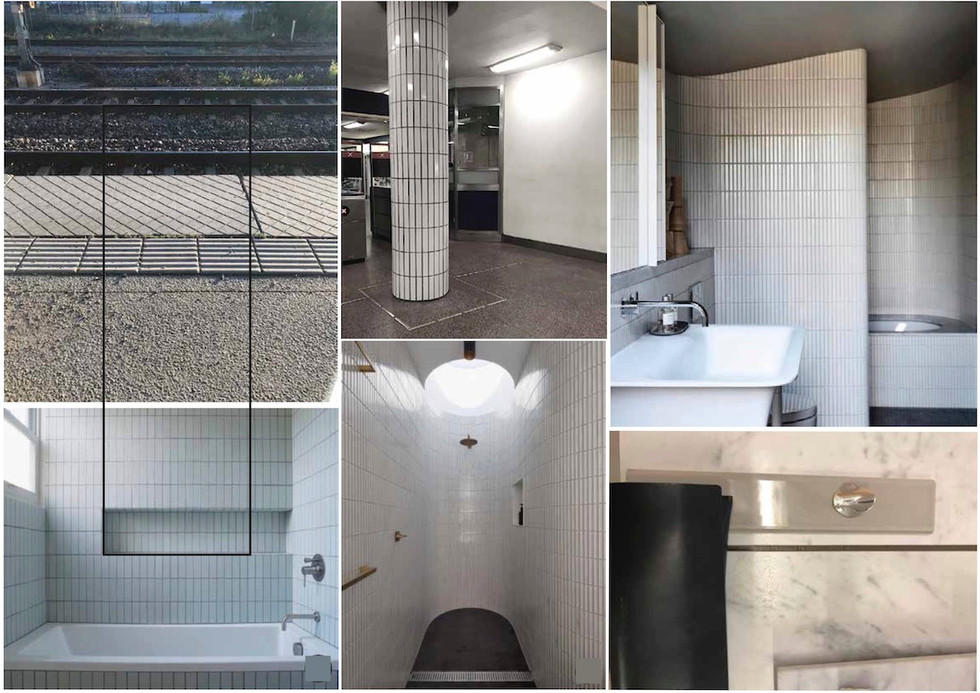 TILE INSPIRATION- FROM THE STREET TO OUR BATHROOM