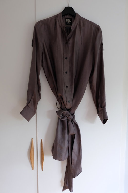 EDUN SILK SHIRT DRESS 600 SEK