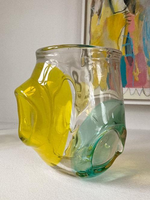 ABSTRACT GLASS VASE 2600 SEK
