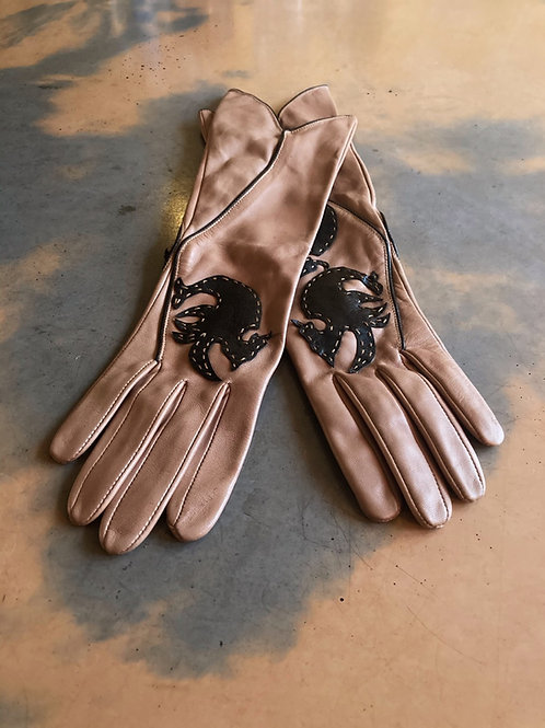 HAND MADE LEATHER GLOVES 400 SEK