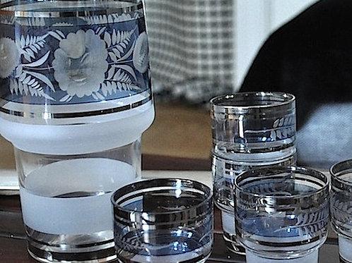 PRINTED GLASS SET 850 SEK