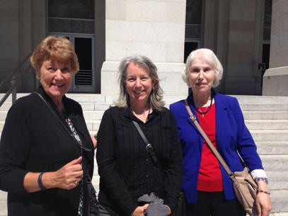 Judy, Nina & Joan in Sacramento  Telsa Park