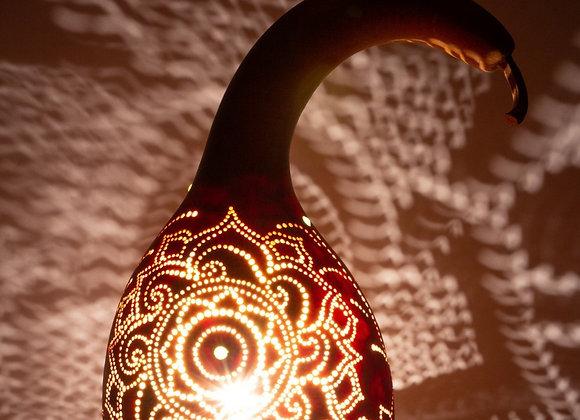 מנורת דלעת ברבור