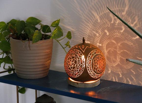 מנורת דלעת גאומטריה מקודשת