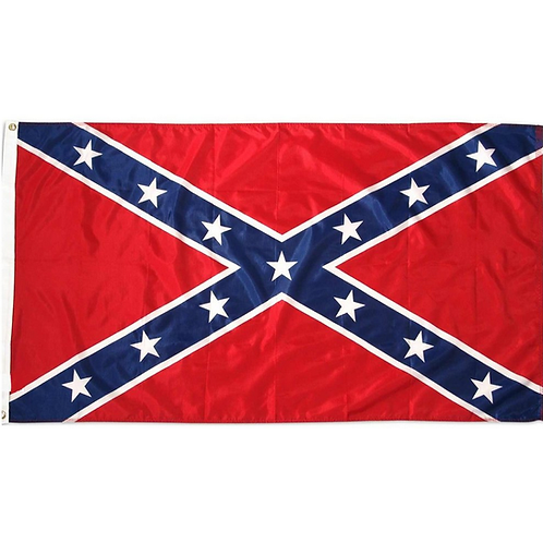 Confederate Battle Flag: 3 ft x 5 ft