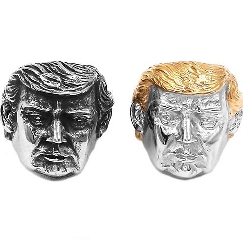 Trump Biker Rings (gold or silver)