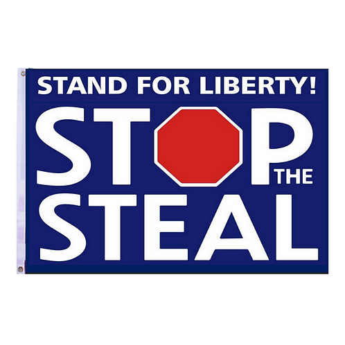Stop The Steal Banner: 3 ft x 5 ft