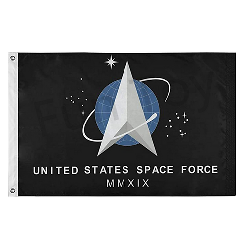 Space Force Flag: 3 ft x 5 ft